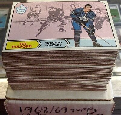 1968/69 1969/70 Topps Hockey Inventory Break You Pick 6 Cards Lot AWESOME! (6 Hockey Card)