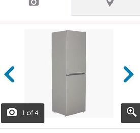 Brand new silver beko fridge freezer
