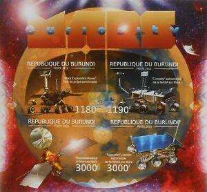 Mars Curiosity Space Probe m/s Burundi 2012 Sc 1155 #BUR12515a IMPERF - <span itemprop='availableAtOrFrom'>Olsztyn, Polska</span> - Mars Curiosity Space Probe m/s Burundi 2012 Sc 1155 #BUR12515a IMPERF - Olsztyn, Polska