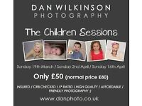 SPECIAL OFFER Childrens photo shoots only £50 - INSURED / CRB CHECKED / 5* RATED / FRIENDLY :)