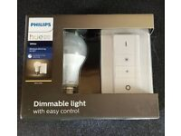 Philips hue E27 white dimmer kit