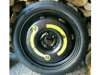 Vw golf spare 18 inch wheel 2010