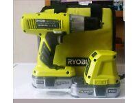 Ryobi 18 volt cordless hammer drill