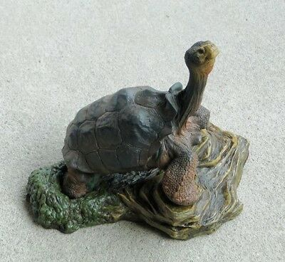 Galápagos Galapagos Giant Land Tortoise Lonesome George Resin Model Figurine  for sale  Shipping to Canada