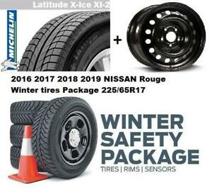 2017 2018 2019 NIssan Rouge WINTER tires n rims PACKAGE JSPEC