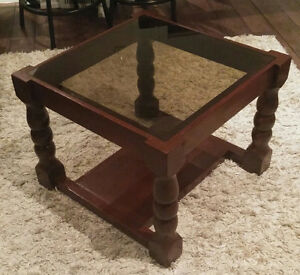 Solid wood  Small coffee table / side table