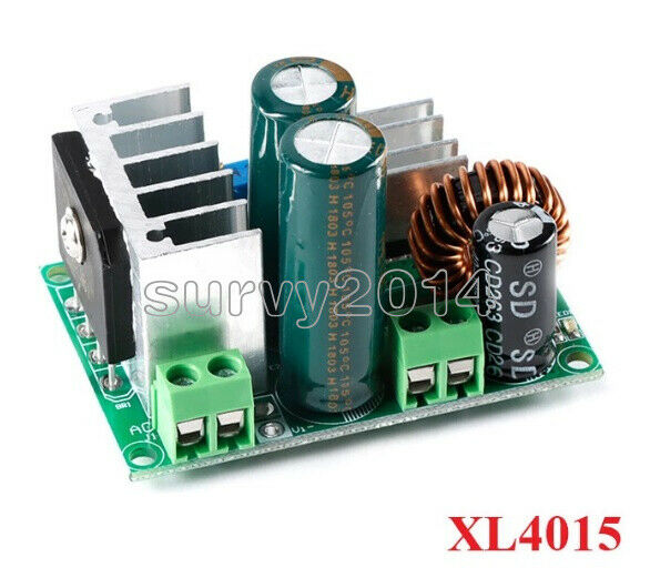 5A Low Voltage AC-DC Buck Step-down Converter Power Supply DC-DC Adjustable