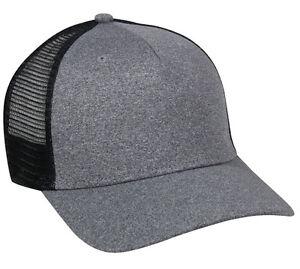 Justin Bieber Trucker Hat Black Grey Snap Back Style New Blank Cap Mesh Back 38cc2c7d0f39