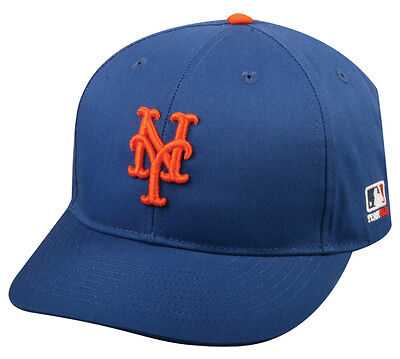 New York Mets Home Replica Baseball Cap Adjustable Youth or Adult (New York Mets Hats)