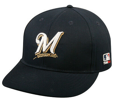 Milwaukee Brewers Replica Baseball Cap Adjustable Youth or Adult - Milwaukee Brewers Baseball