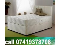New Double / King Size Bed base with Mattress