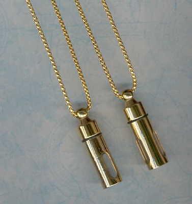 F,Keepsake Urn,Cremation Urn Pendant,Stainless Steel Pendant,Necklace