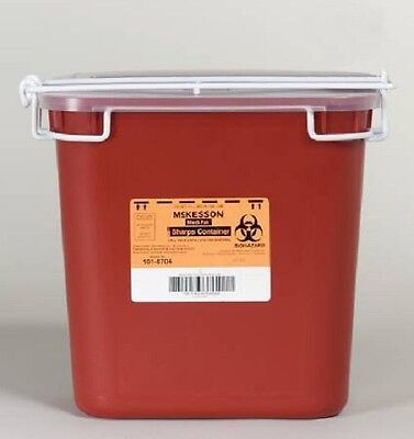 Lot Of 2 2 Gallon Multi Needle Disposal Container Lid Doctor Tattoo Sharp 047
