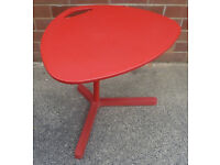 Red Ikea Laptop Table