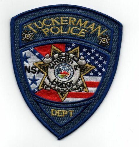 TUCKERMAN POLICE ARKANSAS AR NEW SHOULDER PATCH SHERIFF