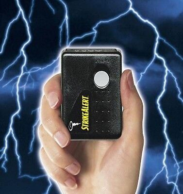StrikeAlert II Personal Handheld Portable Lightning Detector Pager ~ MADE in USA