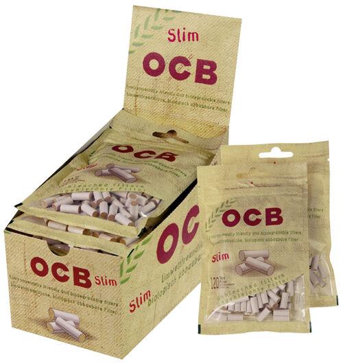 OCB® Organic Slim Filter 6 mm / 10er (Filter, Zigarettenfilter)