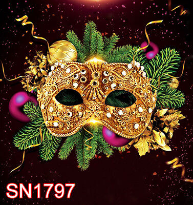 masquerade party 10w x20h FT PHOTO SCENIC BACKGROUND BACKDROP SN1797 - Masquerade Backdrop