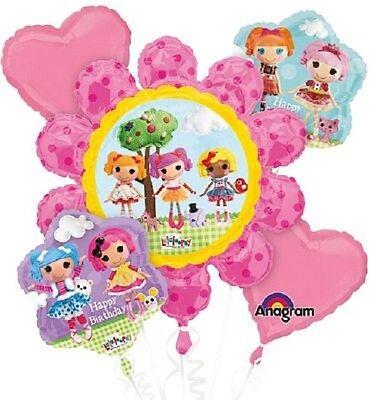 Lalaloopsy Birthday Party Balloon Bouquet 5 - Lalaloopsy Birthday Party