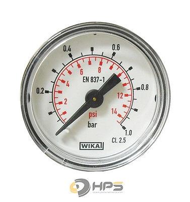 Wika Manometer (WIKA Vakuum  Manometer waagerecht Ø40mm 1/8 Zoll Anschluss verschiedenene Typen)