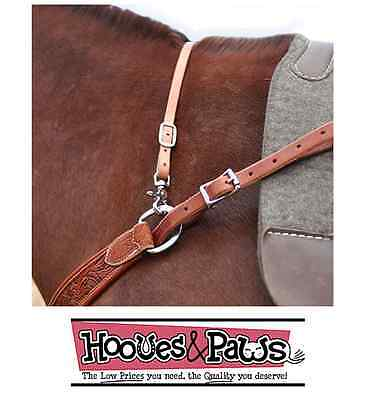 Breast Collar Wither Strap Harness Leather Martin Saddlery Horse Tack