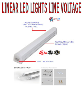 "LED LINEAR LIGHTS 12""~48"""