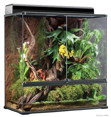 """Exo Terra Reptile Glass Natural Large X-Tall Terrarium 36""""x18""""x36"""""""