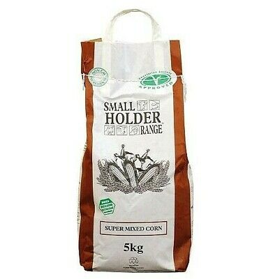 Poultry Corn Food Chicken Mixed Grit Feed Birds 5kg Super Farm Healthy Feeding