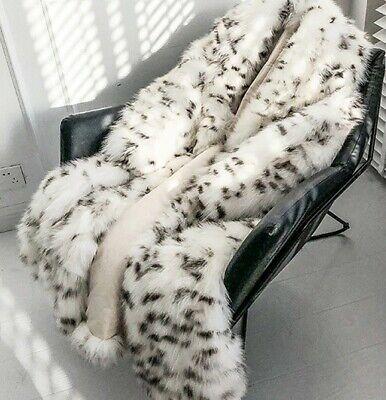 abrigo leopardo sintetico mujer