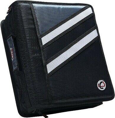 Case-it The Z 2-in-1 Zipper 3-ring Binder 3 Capacity Z-176