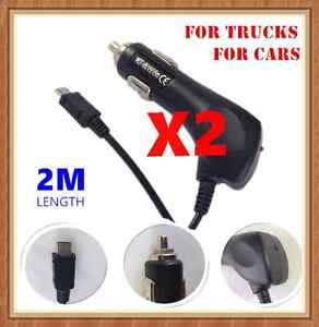 2 Truck &Car Charger for Samsung S6 S5 S4 Note HTC One SONY Xperia Nokia Lumia