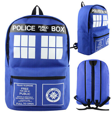 Doctor Who Tardis Rucksack Back Bag cosplay anime umhängetasche schultertasche (Doctor Who Cosplay)