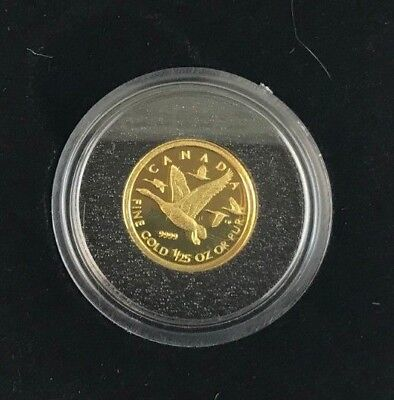 2011 Canadian 1/25 oz Gold Coin - Canada Geese (CS#334) for sale  Brampton