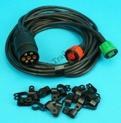 4 metre Pre-wired Harness Wiring Loom for Radex Plug In Trailer Lamps 2900 6800