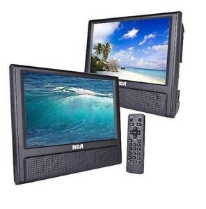 RCA DRC79982 Mobile DVD Player With Additional 9-inch Screen & Remote