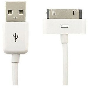 Apple iPhone & iPod - Sync Power & Charger Cable - 1M USB To 30-Pin (3 Pack)
