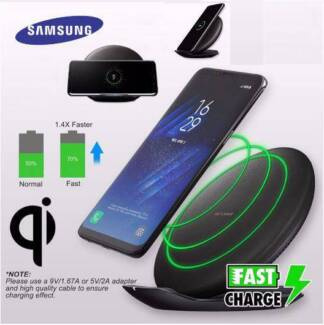 Genuine Samsung Qi Fast Wireless Charger Galaxy S8+ S8 S7 Edge