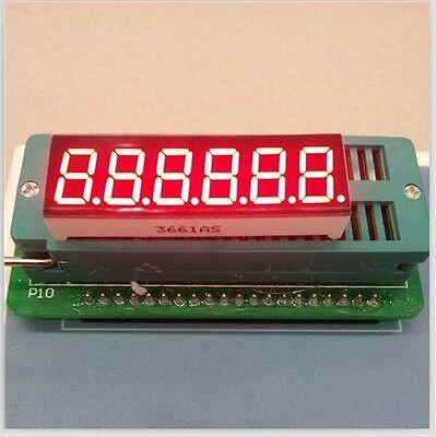 2pcs 0.36inch 7 Segment 6 Digit Common Cathode 0.36 Red Led Digital Display
