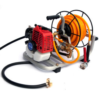 Garden Weed Sprayer Pump with Motor and Hose Reel Kit Wolli Creek Rockdale Area Preview