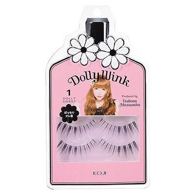 "KOJI☆Japan-Dolly Wink False Eyelash produced by TSUBASA ""No.1 Dolly Sweet"""