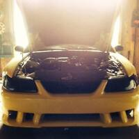 1999 Ford Mustang chrome yellow Coupe (2 door)
