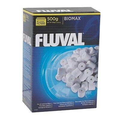 Fluval Biomax Bio Rings 500 grams 17.63 ounces Oz.  Bio-Max Bio Max  Ring Media - Max Bio Media