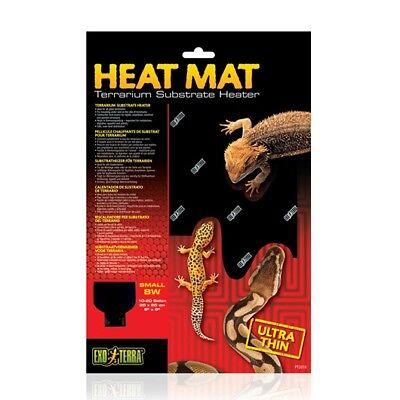- Exo Terra Heat Mat  8 watt Heat Pad Terrarium Substrate Heater