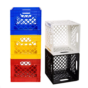 Milk crates - many uses