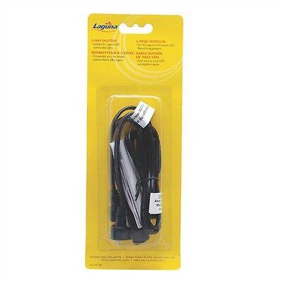 - Laguna Three 3-Way Splitter for LED Koi Gold Fish Pond Glo Light Mini Kit