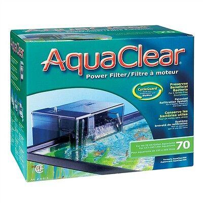 AquaClear 70 Power Filter 40 to 70 U.S. gallons aquariums