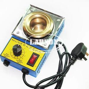 220V-100W-Mini-Stainless-Steel-Tin-Furnace-Lead-Free-Solder-Pot-Dia-38mm-KLT360