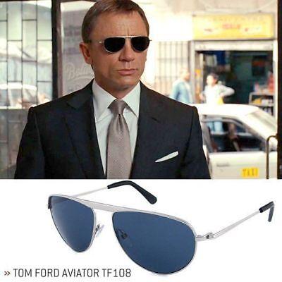 NWT Tom Ford James Bond (TF108 19v) Quantum of Solace & Frames Direct Receipt