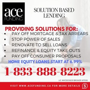 HOME EQUITY LOANS ★ EVERY HOMEOWNER ELIGIBLE ★ 416-937-3941