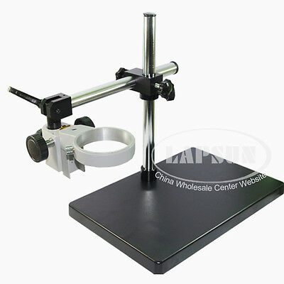 Dual Arm Heavy Duty Boomlarge Stereo Table Stand 85mm 76mm Ring F Microscope Us